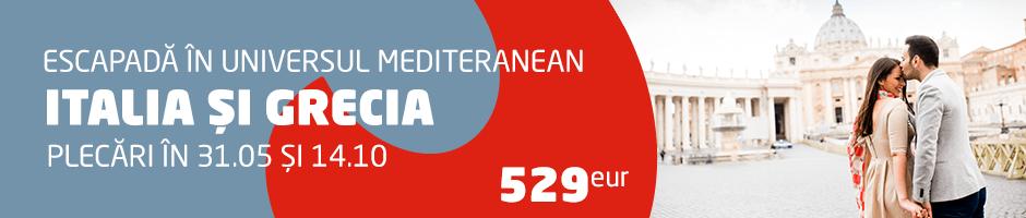 Italia si Grecia: Universul mediteranean