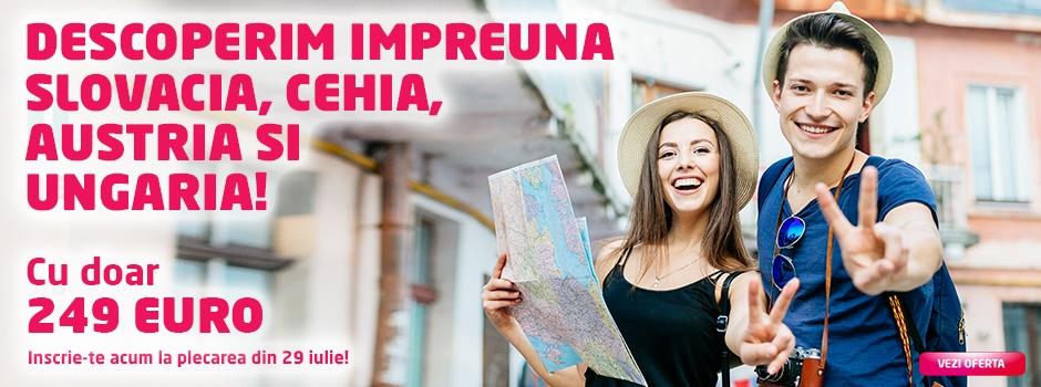 Oferta speciala Slovacia - Cehia - Austria - Ungaria 2018