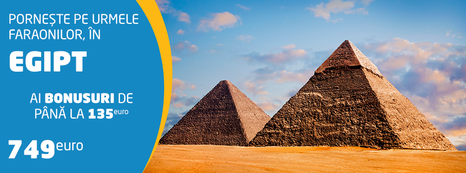 Oferta speciala Circuite 2019 - Egipt