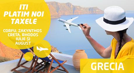 Iti platim noi taxele de aeroport in Grecia la Targul de Turism al Romaniei 2017