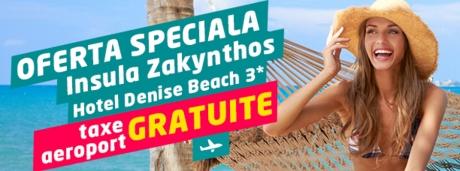 Oferta speciala - taxe aeroport gratuite