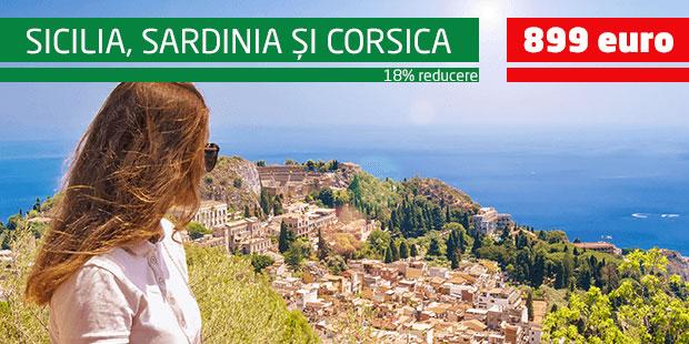 Sicilia - Sardinia - Corsica