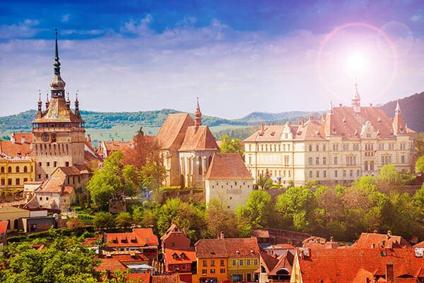 Transilvania Cetati si Biserici fortificate