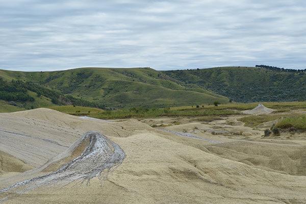 Dealurile Buzaului - Vulcani Noroiosi