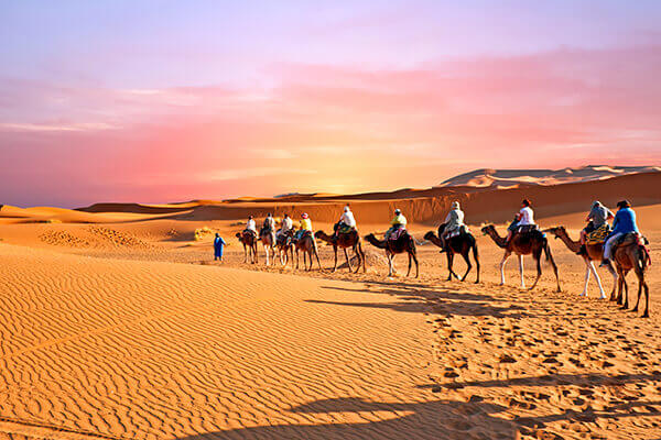 Maroc - Capitalele Imperiale si aventura in desertul Sahara
