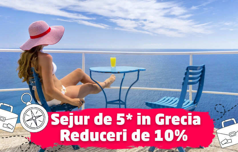 Sejururi de 5* in Grecia - Reduceri 10%