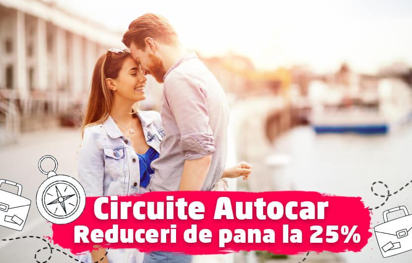 Circuite autocar - Reduceri de pana la 25%
