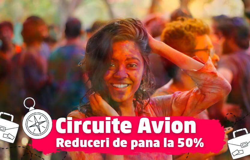 Circuite avion - Reduceri de pana la 50%