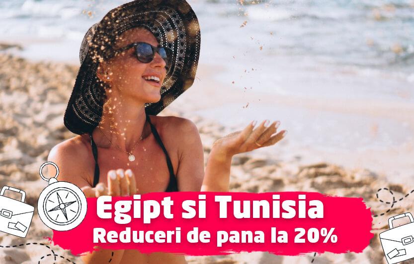 Egipt si Tunisia - Reduceri de pana la 20%