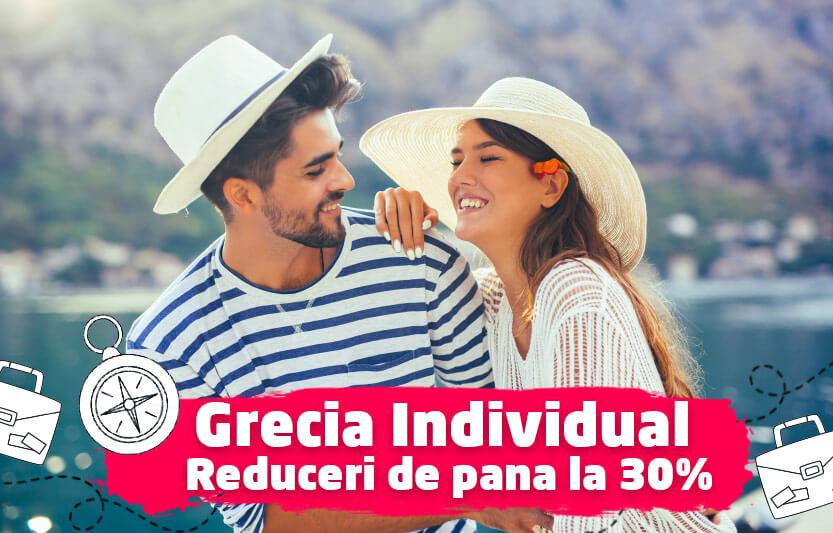Grecia individual - Reduceri de 10%