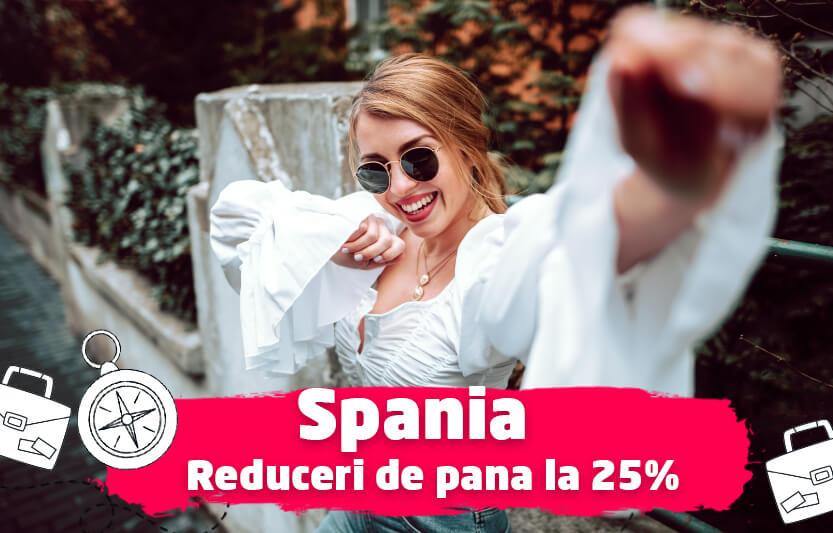 Spania - Reduceri de pana la 25%