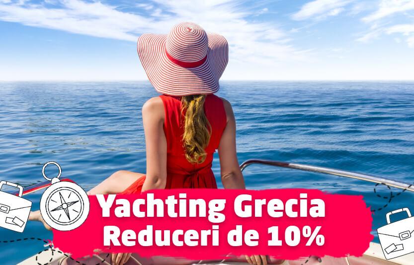 Yachting Grecia - Reduceri de 10%