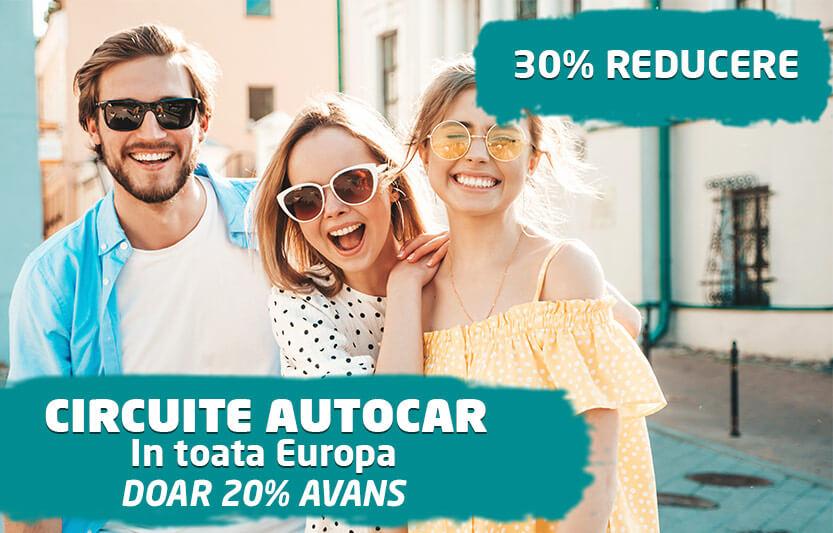 Circuite autocar - 30% reducere