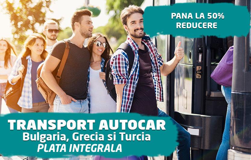 Transport Autocar - Pana la 50% reducere
