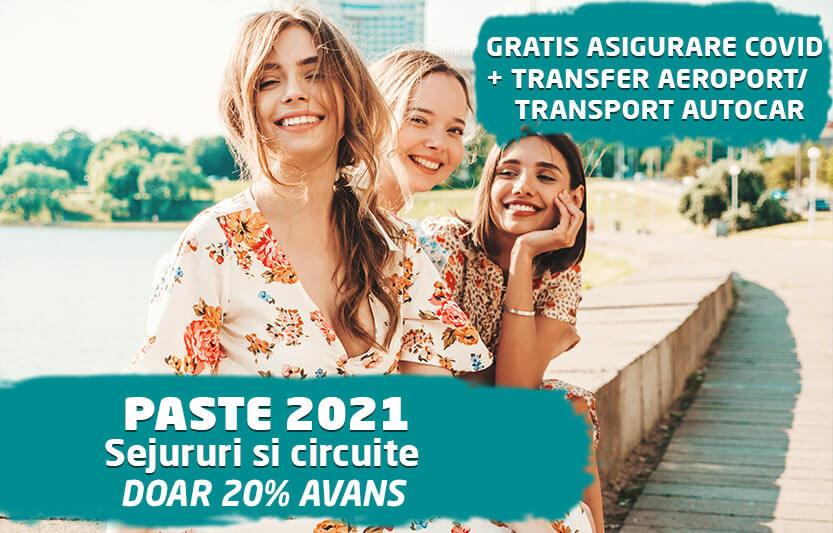 Paste 2021 - Pana la 50% reducere