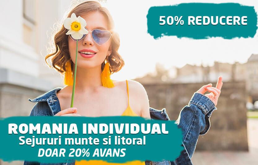 Romania Individual - 50% reducere