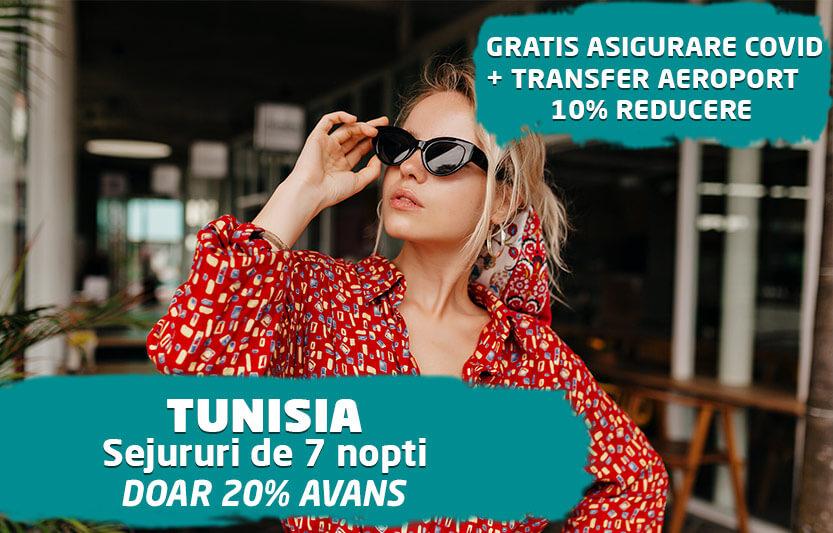 Sejururi Tunisia - 10% reducere