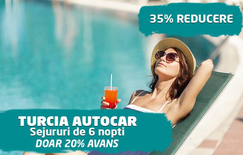 Turcia Autocar - 35% reducere